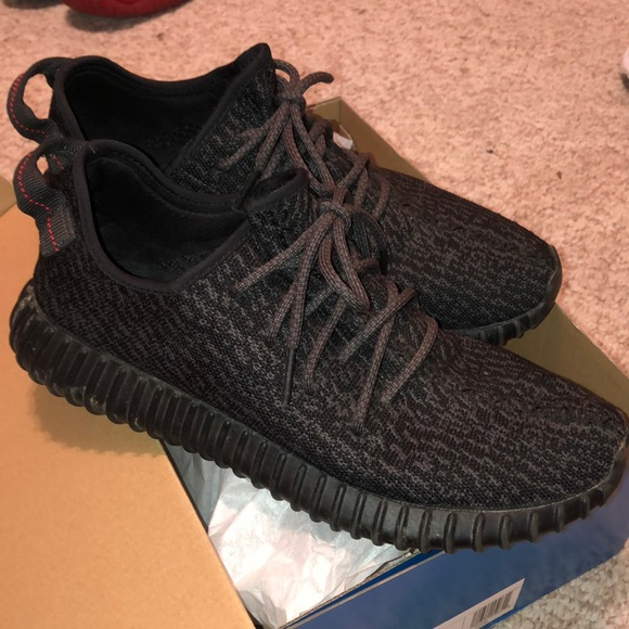 new concept 8542d 5c457 Yeezy Boost 350 'Pirate Black' 2015 *used*